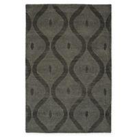 Kaleen Textura Keyhole 8-Foot x 10-Foot Area Rug in Charcoal