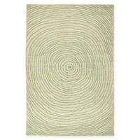 Kaleen Textura Swirl 9-Foot x 12-Foot Area Rug in Green