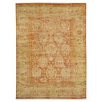 Exquisite Rugs Oushak 8-Foot x 10-Foot Area Rug in Ivory/Rust