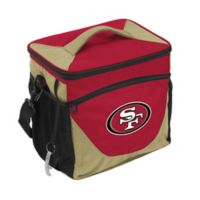 NFL San Francisco 49ers 24-Can Cooler Bag in Black