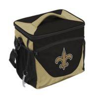 NFL New Orleans Saints 24-Can Cooler Bag in Black