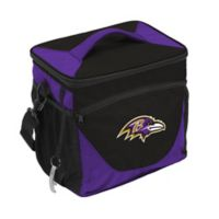 NFL Baltimore Ravens 24-Can Cooler Bag in Black