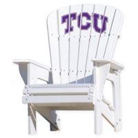 Texas Christian University Horned Frogs Adirondack Chair