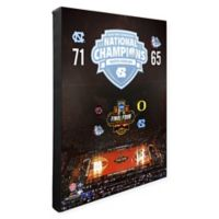University of North Carolina 2017 National Champions 20-Inch x 16-Inch Canvas Wall Art