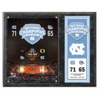 University of North Carolina Tar Heels 2017 National Champions Composite Plaque