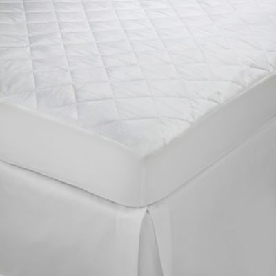 martex essentials twin mattress topper in white - Extra Firm Mattress Topper