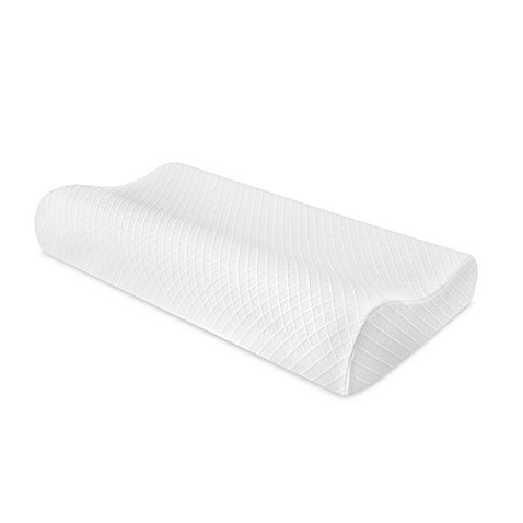 Therapedic Contour King Bed Pillow - Bed Bath & Beyond