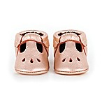 Freshly Picked Size 12-18M Mary Jane Shoe in Rose Gold
