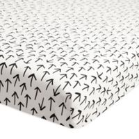 Babyletto Tuxedo Arrows Fitted Mini Crib Sheet