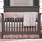 Liz and Roo Petal Pink Linens 3-Piece Crib Bedding Set