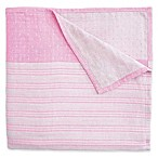 Elegant Baby® 3-Ply Yarn-Dyed Cotton Muslin Adult Blanket in Pink