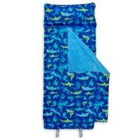 Stephen Joseph® Shark Print Nap Mat in Blue