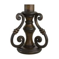 The Great Outdoors® by Minka-Lavery® High Scroll Outdoor Pier Mount in Prussian Gold