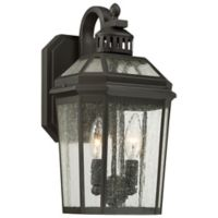 The Great Outdoors® by Minka-Lavery® Hawk's Point 2-Light Lantern in Oil Rubbed Bronze