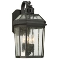 The Great Outdoors® by Minka-Lavery® Hawk's Point 4-Light Lantern in Oil Rubbed Bronze