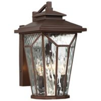 The Great Outdoors® by Minka-Lavery® Satomi 15-Inch Wall-Mount Lantern in Bronze