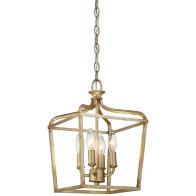 Minka Lavery® Laurel Estate 4 Light Mini Pendant Light In Brio Gold