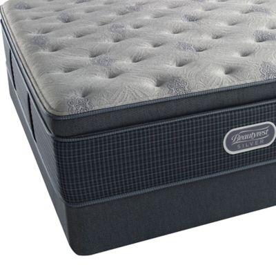 beautyrest silver westlake shores luxury firm pillow top twin mattress set