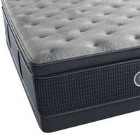 Beautyrest® Silver™ Westlake Shores Luxury Firm Pillow Top Low Profile Queen Mattress Set