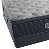 Beautyrest® Silver™ Westlake Shores Plush Pillow Top Twin Mattress Set