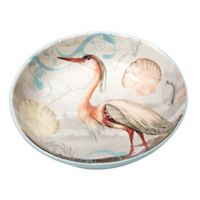 Certified International Coastal View Susan Winget Serving/Pasta Bowl in Beige