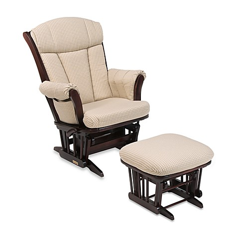 Dutailier® Multiposition Reclining Sleigh Glider and Ottoman in Joseph Beige Fabric/Cherry Wood  sc 1 st  buybuy BABY & Dutailier® Multiposition Reclining Sleigh Glider and Ottoman in ... islam-shia.org
