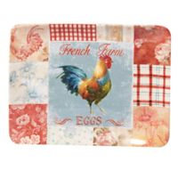 Certified International Farm House Rooster Rectangle Platter