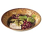 Certified International Gilded Wine Serving/Pasta Bowl
