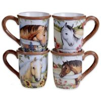 Certified International Heartland Mugs (Set of 4)