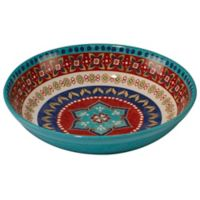 Certified International Monterrey 13.25-Inch Pasta/Serving Bowl in Red