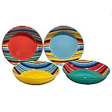 Certified International Pinata by Nancy Green Soup/Pasta Bowls (Set of 4)  sc 1 st  Bed Bath \u0026 Beyond & Certified International Pinata by Nancy Green Dinnerware Collection ...