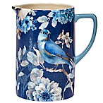 Certified International Indigold Pitcher in Blue