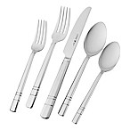 J.A. Henckels International Madison Square 18/10 Stainless Steel 65-Piece Flatware Set