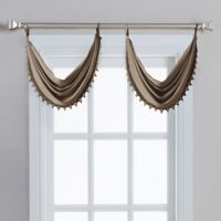 Spellbound Pinch-Pleat Crescent Valance in Mocha