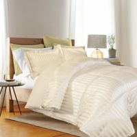 Kathy Ireland® Reversible Down Alternative King Comforter Set in Ivory