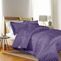 Kathy Ireland® Reversible Down Alternative King Comforter Set in Purple