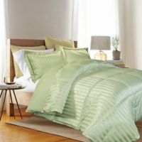 Kathy Ireland® Reversible Down Alternative Twin Comforter Set in Sage