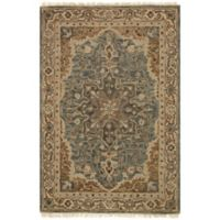 Magnolia Home by Joanna Gaines Hanover 2-Foot 3-Inch x 3-Foot 9-Inch Accent Rug in Slate/Beige