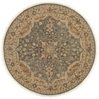 Magnolia Home by Joanna Gaines Hanover 7-Foot 9-Inch Round Area Rug in Slate/Beige