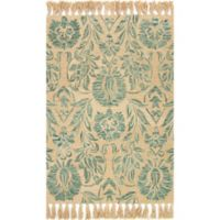 Magnolia Home by Joanna Gaines Jozie Day 2-Foot 3-Inch x 3-Foot 9-Inch Accent Rug in Aqua