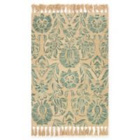 Magnolia Home by Joanna Gaines Jozie Day 5-Foot x 7-Foot 6-Inch Area Rug in Aqua