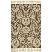 Magnolia Home by Joanna Gaines Jozie Day 7-Foot 9-Inch x 9-Foot 9-Inch Area Rug in Charcoal