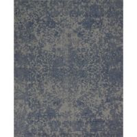 Magnolia Home By Joanna Gaines Lily Park 2-Foot 3-Inch x 3-Foot 9-Inch Accent Rug in Blue