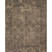 Magnolia Home By Joanna Gaines Lily Park 3-Foot 6-Inch x 5-Foot 6-Inch Area Rug in Beige