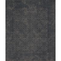 Magnolia Home by Joanna Gaines Lily Park 2-Foot 3-Inch x 3-Foot 9-Inch Accent Rug in Charcoal