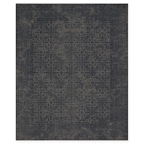 image of Magnolia Home by Joanna Gaines Lily Park Rug in Charcoal