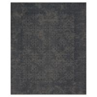 Magnolia Home by Joanna Gaines Lily Park 5-Foot x 7-Foot 6-Inch Area Rug in Charcoal