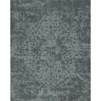 Magnolia Home by Joanna Gaines Lily Park 2-Foot 3-Inch x 3-Foot 9-Inch Accent Rug in Teal