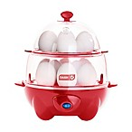 Dash™ Deluxe Egg Cooker in Red