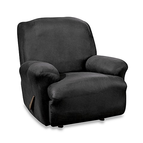 Stretch Leather Black Recliner Slipcover Bed Bath Amp Beyond